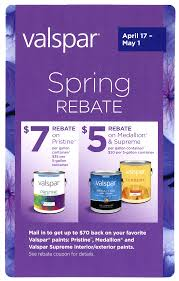 rebates on valspar paint and cabot stain at pohaki pohaki lumber