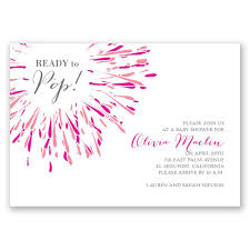 about to pop baby shower invitation invitations by dawn