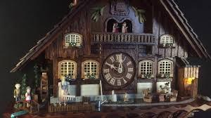 Authentic Cuckoo Clocks Schneider 8tmt 3180 Cuckoo Clock Youtube