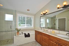 Dulle Overhead Doors Traditional Master Bathroom With Cathedral Ceiling Drop In