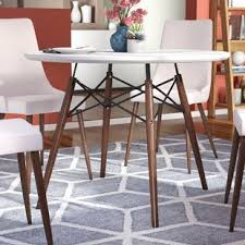dining room table white white kitchen dining tables you ll love