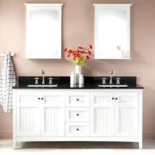 white bathroom double vanity double vanity for rectangular sinks