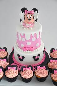 minnie mouse birthday cakes rozannes cakes minnie mouse birthday cake and cupcakes with regard