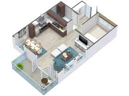 D Floor Plans RoomSketcher - Apartment building design plans