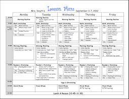free teacher lesson plan template 9 best agenda templates