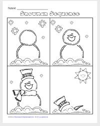 worksheet 595725 sequencing events worksheets for kindergarten