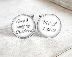 personalized wedding cufflinks wedding cufflinks etsy