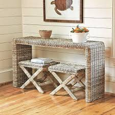 Rattan Console Table Hailey Console Table Rattan Console Table Palquest
