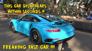 miami blue porsche turbo s brand new porsche turbo s 991 2 in india brengarage 104