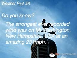 unknown facts about weather most amazing facts about weather