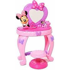 minnie s bowtique minnie s bow tique minnie mouse bowdazzling vanity walmart