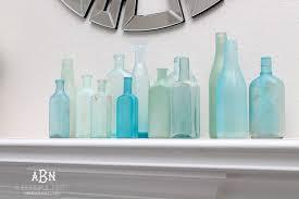 How to Make DIY Sea Glass Bottles Tutorial for Coastal Decor