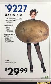 Sexy Halloween Meme - sexy potato halloween costume funny pinterest halloween