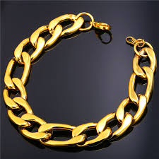 mens gold hand bracelet images Buy starlord rock bracelet 12mm thick gold hand jpg