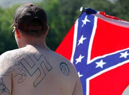 Aryan Nation Flag White Power Groups Banding Together But For How Long Alabama