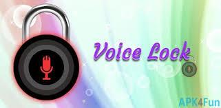 the voice apk voice lock apk 1 0 5 voice lock apk apk4fun