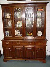 Ethan Allen Corner Cabinet by Ethan Allen China Cabinet Ebay