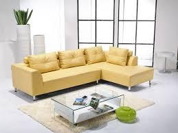 canape jaune cuir decoration moderne canapedangle couleur jaune cuir 40 idées