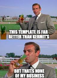Sean Connery Memes - sean connery kermit imgflip know your meme
