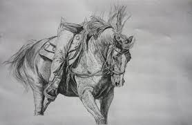 pencil sketch horse 2 by sunwolf29 on deviantart
