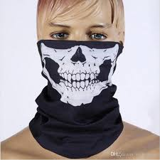 dhl 25 50cm halloween skeleton accessories fashion seamless wear