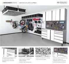 custom garage design ideas the organized garage maple slate extruded handles st louis
