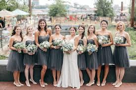charcoal grey bridesmaid dresses gorgeous grey bridesmaid ideas for wedding weddceremony