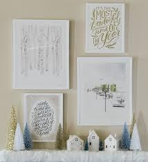 winter decorations beautiful post winter home decor ideas resin crafts