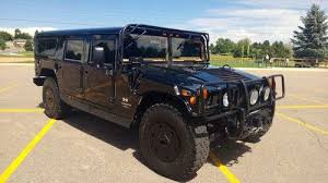 armored hummer purchase used 1997 armored black h1 hummer wagon in littleton