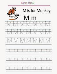 Number 2 Tracing Worksheet Kindergarten Worksheets Printable Tracing Worksheet Alphabet M M