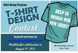 design t shirt program free t shirt design contest for noaa divers office of marine and
