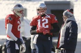 all on brady as he misses practice with injury the