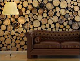 wood wall covering ideas cool idea a city friendly solution for a woodsy visual wall