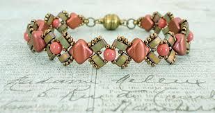 bracelet beading pattern images Linda 39 s crafty inspirations free beading pattern lucy bracelet jpg
