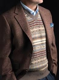 sle of resume pinterest everything fashion mens fair isle sweater vest in mocha with blazer resume