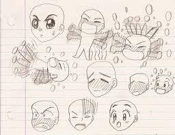 tenma tsukamoto u0027s anime expression sketch 2 by magic