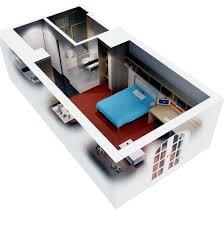 one bedroom house plans 3d home design ideas