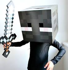 Minecraft Enderman Halloween Costume Littlebigbell Minecraft Halloween Costume Archives