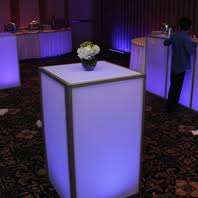 cocktail tables for rent led cocktail table rental nyc nj ct and island ny led
