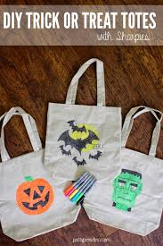 halloween diy trick or treat tote bags pretty providence