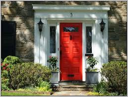 color to paint front door with red brick house painting 33529