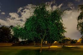 Light On Landscape Sparkle Magic Emerald Dust Green Illuminator Laser