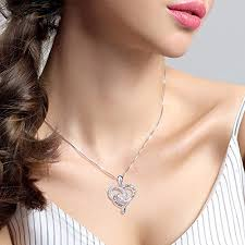 back jewelry necklace images 925 sterling silver jewelry quot i love you to the moon jpg