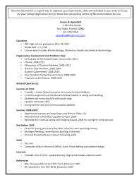 template for high resume for college admissions college admission resume template resume sles