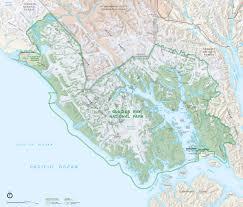 National Map Area Maps Glacier Bay National Park U0026 Preserve Ak Glacier Bay