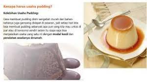 cara membuat puding enak dan murah resep pudding kekinian
