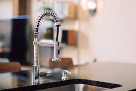 how to open kitchen faucet a commercial style faucet adds a modern sculptural element to the
