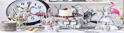 Alice In Wonderland Theme Party Decorations Truly Alice In Wonderland Party Fun Party Supplies