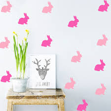 online get cheap exclusive wallpapers aliexpress com alibaba group home furnishing decorative exclusive direct wall sticker cartoon style cute rabbit pvc wallpaper children room decor