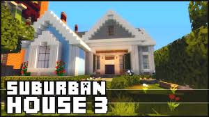 minecraft small suburban house 3 youtube